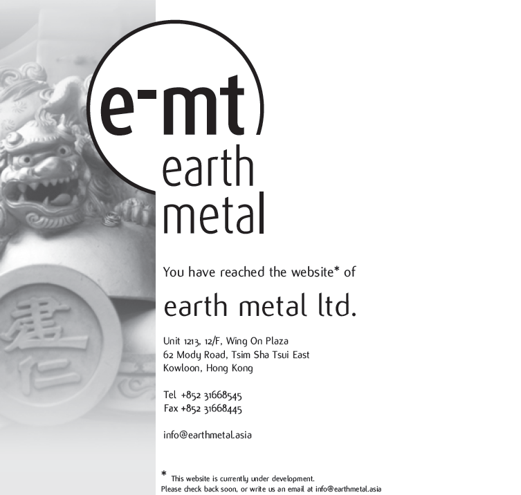 earth metal ltd.